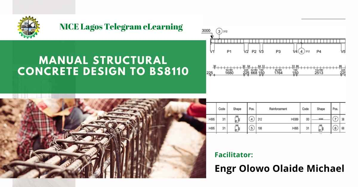 Manual Structural Concrete Design to BS8110 by Engr Olowo Olaide Michael
