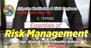Risk Management by Engr. Tokunbo Ajanaku Antoni