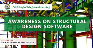 Awareness on Structural Design Software by Engr. Oluwasheun Akol Olaitan